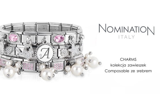 Nomination Silver Charms